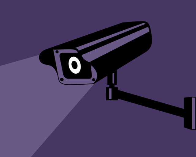 From commons.wikimedia.org: Surveillance-camera {MID-167748}
