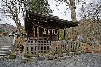 Suwa clan - The Uchi-no-mitama-den (内御玉殿)