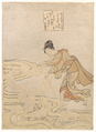 Suzuki Harunobu - The Jewel River at Chōfu (Chōfu no Tamagawa) ~ archival.png