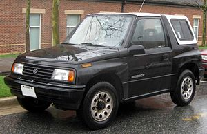 Suzuki Vitara - 1989–1991 Suzuki Sidekick 3-door (US)