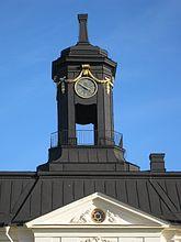 Fil:Svartsjö slott, klocklanternin och tympanon, 2016b.jpg