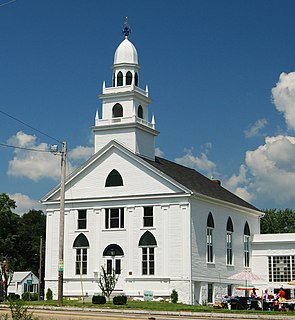 Church of Christ, Swansea church building in Massachusetts, United States of America