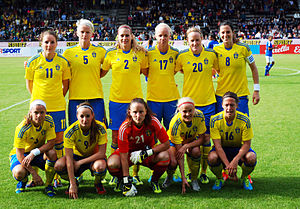 Sweden women v Brazil June 2013.jpg