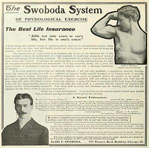 Alois P. Swoboda - Image: Swoboda ad