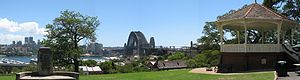 Sydney Observatory - Observatory Hill affords superb views of Sydney Harbour and the bridge
