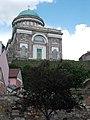 Szent Adalbert-főszékesegyház dunai homlokzata az Erzsébet park felől, 2016 Esztergom.jpg