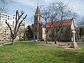 Szent István király templom és a kereszt, 2018 Zugló.jpg