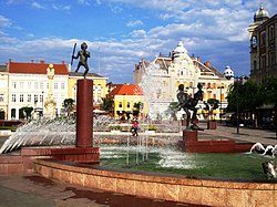 Szombathely Main Square.JPG