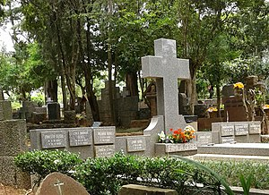 Túmulo de Ernesto Geisel e demais membros da família.