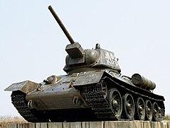 טנק T-34 סובייטי