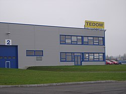 TEDOM factory in Horka-Domky, Třebíč, Třebíč District.jpg