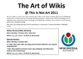 TINA 2011 The Art of Wikis.png