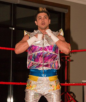 WWE Cruiserweight Championship - The inaugural Cruiserweight Champion TJ Perkins
