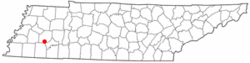 Location of Medon, Tennessee
