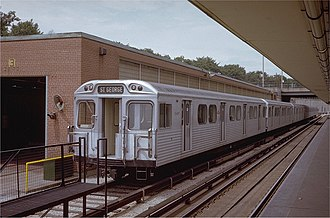 Hawker Siddeley Canada - A H1 subway car built for the Toronto Transit Commission
