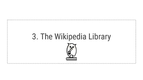 An Overview Of The Wikipedia Libraryu0027s 2014 Progress And 2015 Goals
