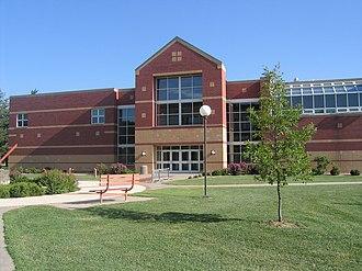 Hillsboro, Kansas - Natural Science Center on Tabor College campus (2007)