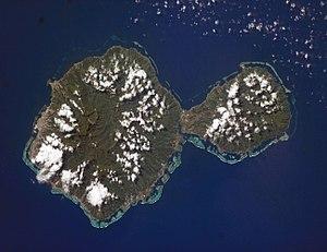 NASA-Bild von Tahiti