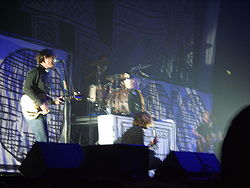 Taking Back Sunday performing as a supporting act at a Lostprophets concert.JPG