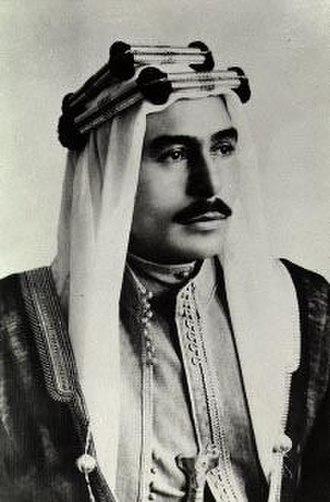 Talal of Jordan - Talal in 1951