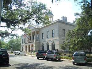 United States Courthouse (Tallahassee) - The Courthouse as it appears today.