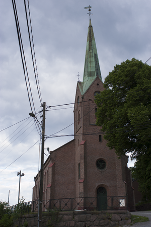 Åskollen - Tangen Church
