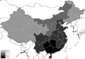 Taoist Church influence in China.png