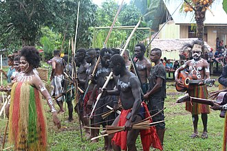 West Papua (province) - Image: Tarian tradisional