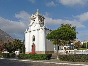 Tarrafal, Cape Verde - Santo Ámaro Abade church, also serves as the seat of its parish that covers the whole municipality