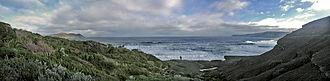 South East Cape - South East Cape from South Cape Bay
