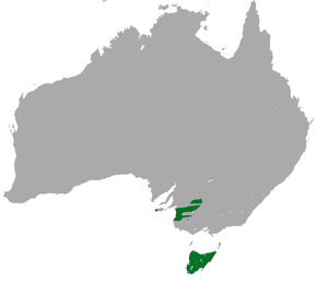 Description de l'image Tasmanian Pygmy Possum area.png.
