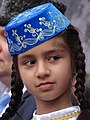 Tatar Girl at May 18 Commemoration of Crimean Tatar Deportations-Genocide - Maidan Square - Kiev - Ukraine (26826386130).jpg
