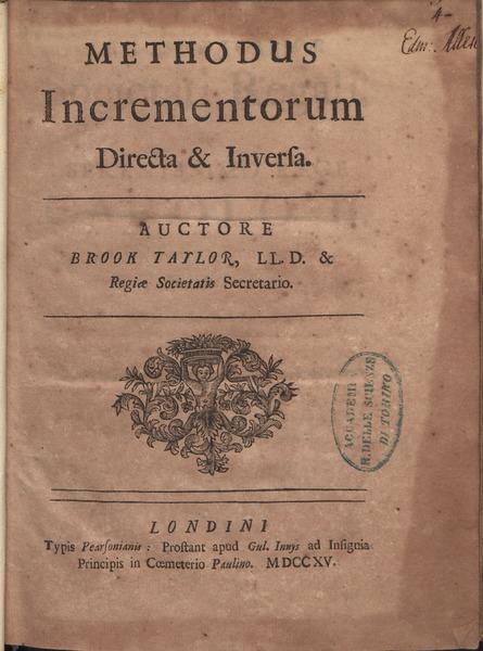 File:Taylor - Methodus incrementorum directa et inversa, 1715 - 811460.tif