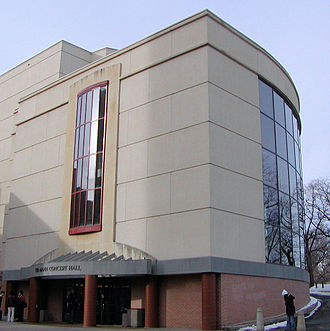 University of Minnesota College of Liberal Arts - Ted Mann Concert Hall