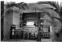 Telharmonium, Thaddeus Cahill, 1897.