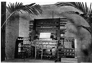 Telharmonium type of electronic organ