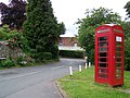 Telephone box, Cerne Abbas - geograph.org.uk - 1359430.jpg