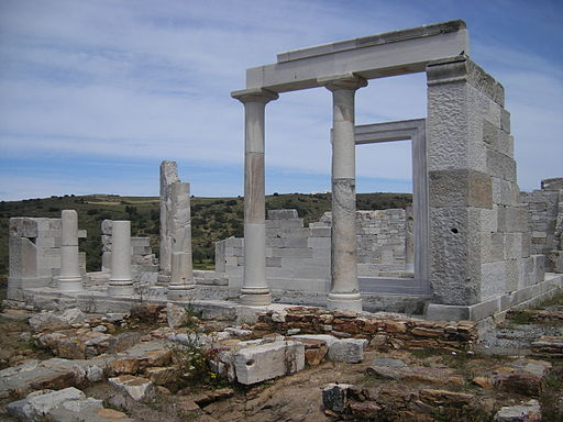 Temple Demeter Naxos 1
