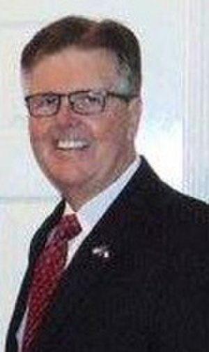 Dan Patrick (politician) - Texas Lt. Governor Dan Patrick at the Republican State Convention in Dallas, Texas, in May 2016.