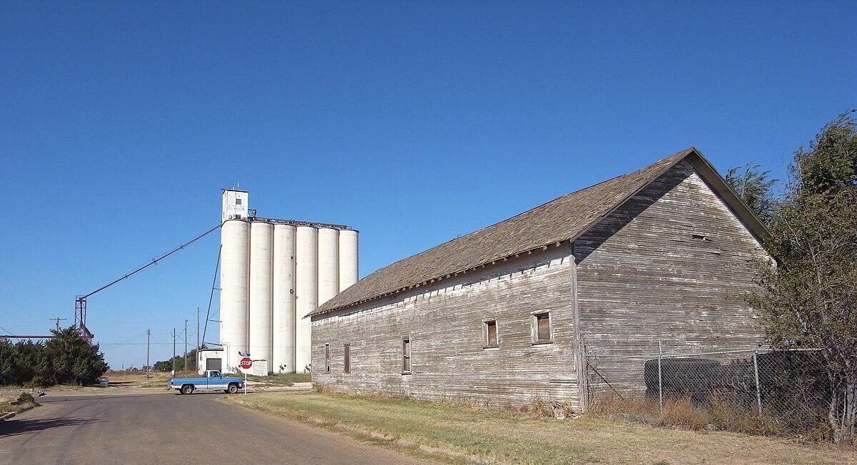 Px Texico New Mexico Grain Elevator