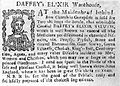 Text; advertisement for Daffey's Elixir, 18th century Wellcome L0015233.jpg