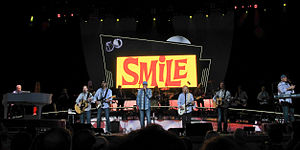 "The Smile Sessions - The reunited Beach Boys in 2012, performing ""Heroes and Villains"" during their 50th anniversary tour"