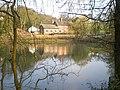 The Boar Inn and the millpool, Moddershall - geograph.org.uk - 1805824.jpg