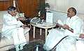 The Chief Minister of Andhra Pradesh, Dr. Y.S. Rajasekhara Reddy calls on the Union Minister of Parliamentary Affairs and Water Resources, Shri Pawan K. Bansal, in New Delhi on June 19, 2009.jpg