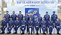 The Chief of the Air Staff, Air Chief Marshal Arup Raha along with the Air Officers during the IAF seminar on Transformational Leadership, in New Delhi on December 15, 2016.jpg