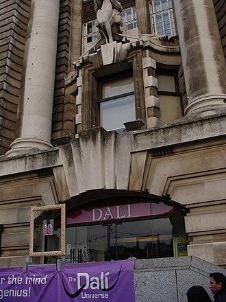 Dalí Universe - The entrance to Dalí Universe in County Hall