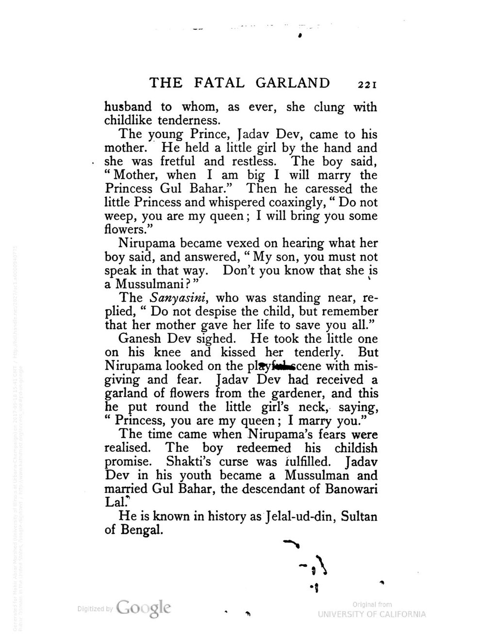 Page:The Fatal Garland - Swarnakumari Devi (2e) pdf/235