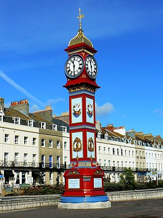 Jubilee Clock Tower, Weymouth - Weymouth's Jubilee Clock Tower.