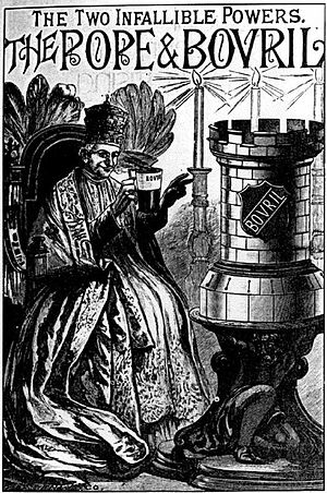 Bovril - Image: The Pope and Bovril