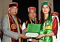 The President, Shri Ram Nath Kovind presenting the degrees, at the 9th Convocation of the Dr. Y.S. Parmar University of Horticulture and Forestry, in Solan, Himachal Pradesh (1).JPG